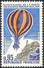 France 1971 Hot Air Balloon/Pigeons/Flight/Transport/Airmail/Postal 1v (n33310)