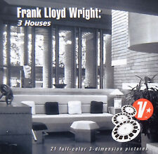 Frank Lloyd Wright 3 Houses 3D View-Master reels Auldbrass Wingspread