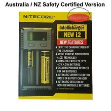 Nitecore NEW i2 AUSTRALIAN VERSION Battery Charger Li Ion IMR NIMH Nicad