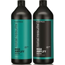 MATRIX NEW TOTAL RESULTS HIGH AMPLIFY SHAMPOO & CONDITIONER -1000ML/LITRE