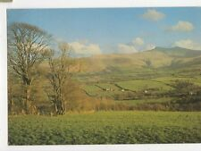 Brecon Beacons From Road To Mountain Centre 1987 Postcard 120a