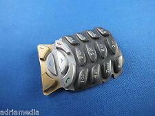 Original Nokia 6310i Keypad Cover JETBLACK Gehäuse Silber Tastatur Tastaturmatte