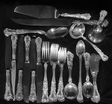 STERLING SILVER GORHAM BUTTERCUP Flatware Set 45pcs + Serving Pieces