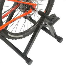 Stationary Road Bike Bicycle Cycling Indoor Exercise Trainer Stand Roller V8G7