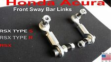 02 03 04 05 06 Honda Acura RSX Adjustable Front Sway End Links DC5 Type S Type R