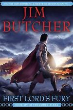 First Lord's Fury - The Codex Alera #6 by Jim Butcher HC new