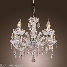 Modern Elegant Crystal Ceiling Candle Light Superior Lamp Lighting Chandelier WY