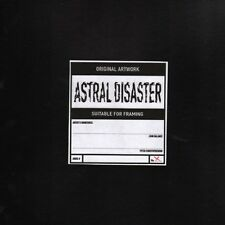 Coil Astral Disaster Vinyl LP Record only 250 pressed! rarest coil release! NEW!