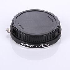 FOTGA Leica M LM lens to Micro 4/3 Adapter for E-P1 E-P2 E-PL1 GF1 GF2