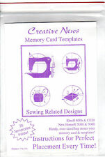 """Creative News Sewing Machine Embroidery Templates """"Sewing Related Designs"""" 26pcs"""