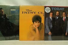 lot 3lp records The Patsy Cline story Best of Hank Thompson Brazos Valley Boys