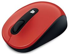 MICROSOFT Sculpt Mobile Wireless Mouse for Windows 10/8/7 RED-Factory Packaging