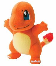 """Pokemon CHARMANDER Authentic X & Y OFFICIAL TOMY Licensed 8"""" Plush w/Tags"""