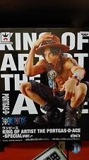 ONE PIECE KING OF ARTIST PORTGAS D. ACE SPECIAL Ver. FIGURA FIGURE NEW NUEVA