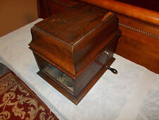 Vintage Original Edison Amberola 30 Cylinder Phonograph with 37 Cylinders