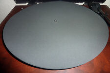 3 MM HIGH QUALITY NEOPRENE TURNTABLE PLATTER MAT FREE U.K. P & P