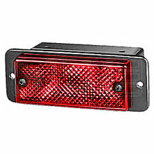 Rear Fog Light: Rear Fog Lamp with Red Lens | HELLA 2NE 006 609-011