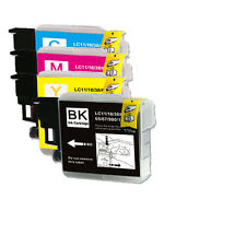 4 NEW PK Ink Cartridges use for Brother LC61 LC-61 MFC J410w J415w J615W J630W