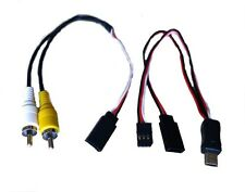 USB to AV Video Output RCA Cable & 5V DC compatible with GoPro® cameras