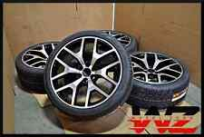 "New 26"" Aftermarket Gloss Black Machined Wheels w/ Tires that fit Chevrolet GMC"