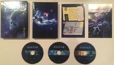 Avatar (DVD, 2010, 3-Disc Set, Extended Collector's Edition) Like New Mint Discs