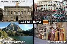 SOUVENIR FRIDGE MAGNET of CATALUNYA CATALONIA SPAIN