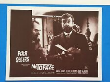 MR TOPAZE Lobby Card Set of 8 (Overall VF+) 1962 ReRelease Peter Sellers  8530