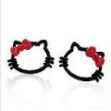 CAT earring HELLO KITTY stud earring CHILDRENS jewellery animal earring