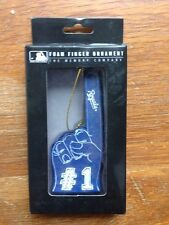 KC ROYALS FOAM FINGER CHRISTMAS ORNAMENT~MLB~NIP
