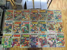 THOR 41 ISSUE BRONZE COMIC RUN 238-336 MARVEL