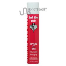Rock Your Hair SPRAY IT BIG Volumizing Hair Spray 10oz w/ FREE nail file