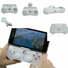 White Wireless Bluetooth Game Pad Controller Joystick for iPhone/ iPad /Android