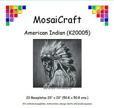 Mosaicraft Pixel Craft Mosaico Kit' American Indian » (incl. Paloma Cola Clips)