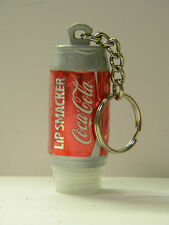 "Coke Can Key Ring Soda Pop Key Chain Red Silver 2"" x 1"" Stocking Stuffer"
