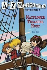 Mayflower Treasure Hunt (A to Z Mysteries Super Edition, No. 2)-ExLibrary