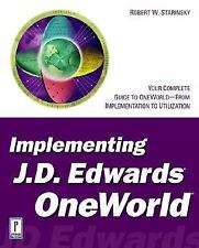 Implementing J.D. Edwards OneWorld (BAAN)-ExLibrary