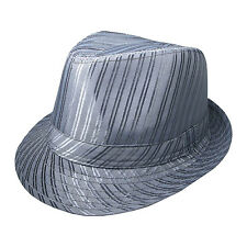 Mens High Quality Coloured Double Line Style Trilby Hat UK Seller 38853-1