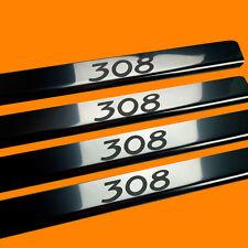 410219 BRILLANT 4 LES SEUILS DE PORTE CONVIENT POUR PEUGEOT 308 MK1 MK 1 (308)
