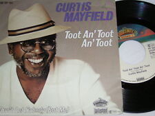 """7"""" - Curtis Mayfield / Toot an Toot an Toot & She don´t  let nobody # 2360"""