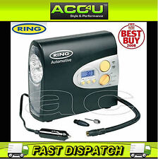 Ring RAC600 12v Car Automatic Digital Tyre Air Compressor Inflator Electric Pump