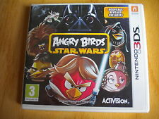 ANGRY BIRDS STAR WARS   ! JEU 3DS  3 DS  NEUF  SOUS  BLISTER  !
