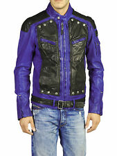 DIESEL LABER LEATHER JACKET SIZE L 100% AUTHENTIC
