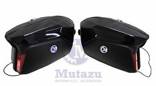 Detachable Hard Saddlebags Yamaha FZ 6 1 7 FJ 09 V Star Road Warrior Roadliner