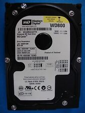 Western Digital WD800BB-00JHC0 IDE 80GB Hard Drive DCM: HSBHCTJAA Tested