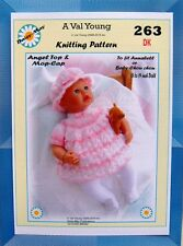 DOLLS KNITTING PATTERN FOR ANNABELL NO 263 BY Val Young