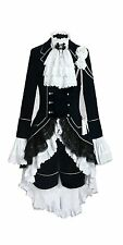 Black Butler Ciel Phantomhive Uniform Cosplay Costume Taliored