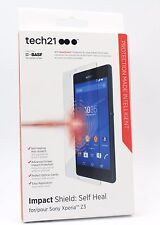 Genuine Tech21 Impact Shield Self Healing Screen Protector for Sony Xperia Z3