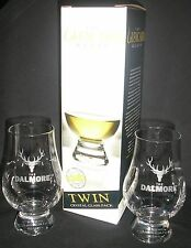DALMORE TWIN PACK GLENCAIRN SCOTCH MALT WHISKY GLASSES