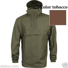 Anorak-2 jacket tarpaulin windbreaker SPLAV Russia 100% cotton Tobacco color Rus