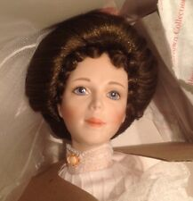 "18"" NIB Georgetown Collection Victorian Bride Doll Exquisite Dress Certificate"